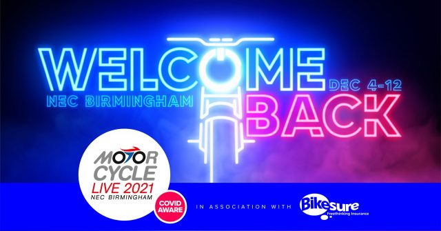 Welcome Back And Come In To Motorcycle Live 2021