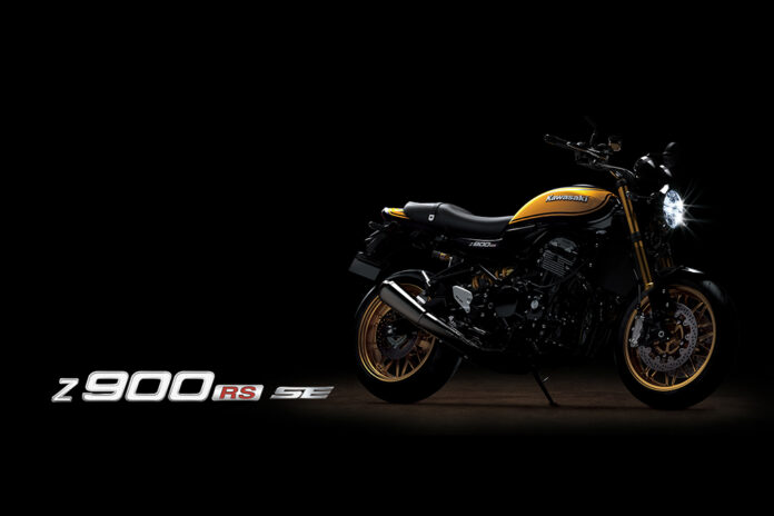 Z900rs Se Yellow Ball Available For 2022