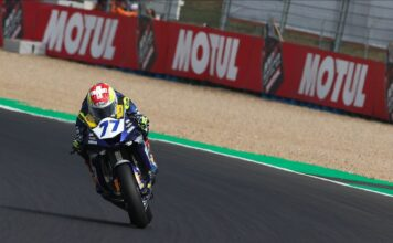 Aegerter Leads Worldssp Friday Charge, French Stars In The Hunt, Odendaal Crashes