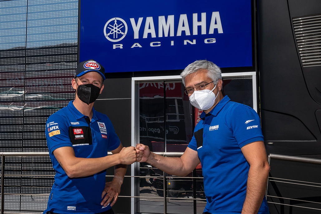 Andrea Locatelli Extends Contract With Yamaha Until End Of 2023