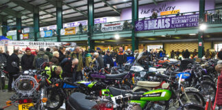Five Reasons Why You Need To Be At The Stafford Classic Motorcycle Mechanics Show On October 9-10