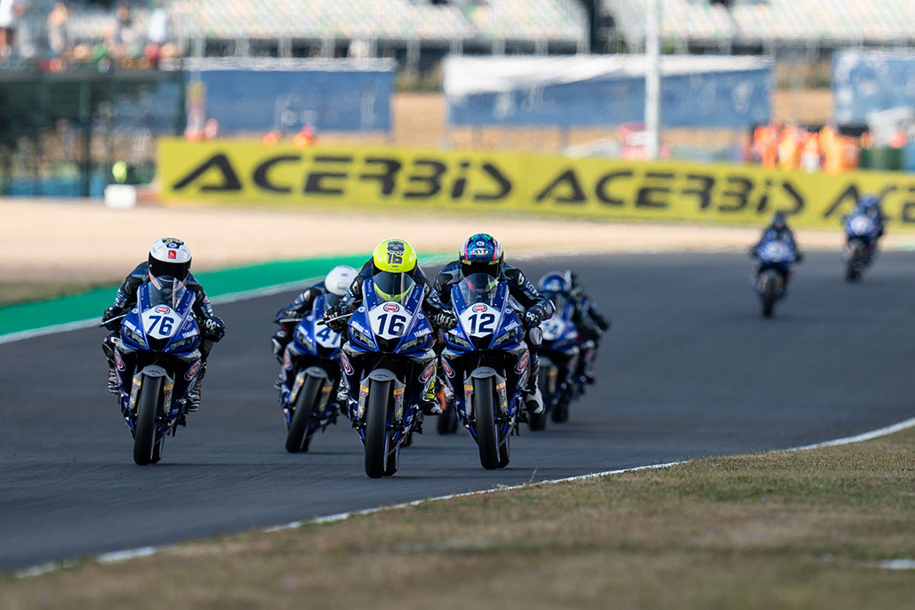First Yamaha R3 Blu Cru European Cup Champion To Be Crowned At Barcelona