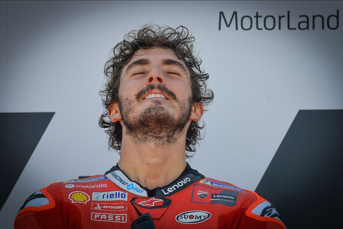 Impeccable: Bagnaia Battles Marquez For Stunning Maiden Win At Motorland