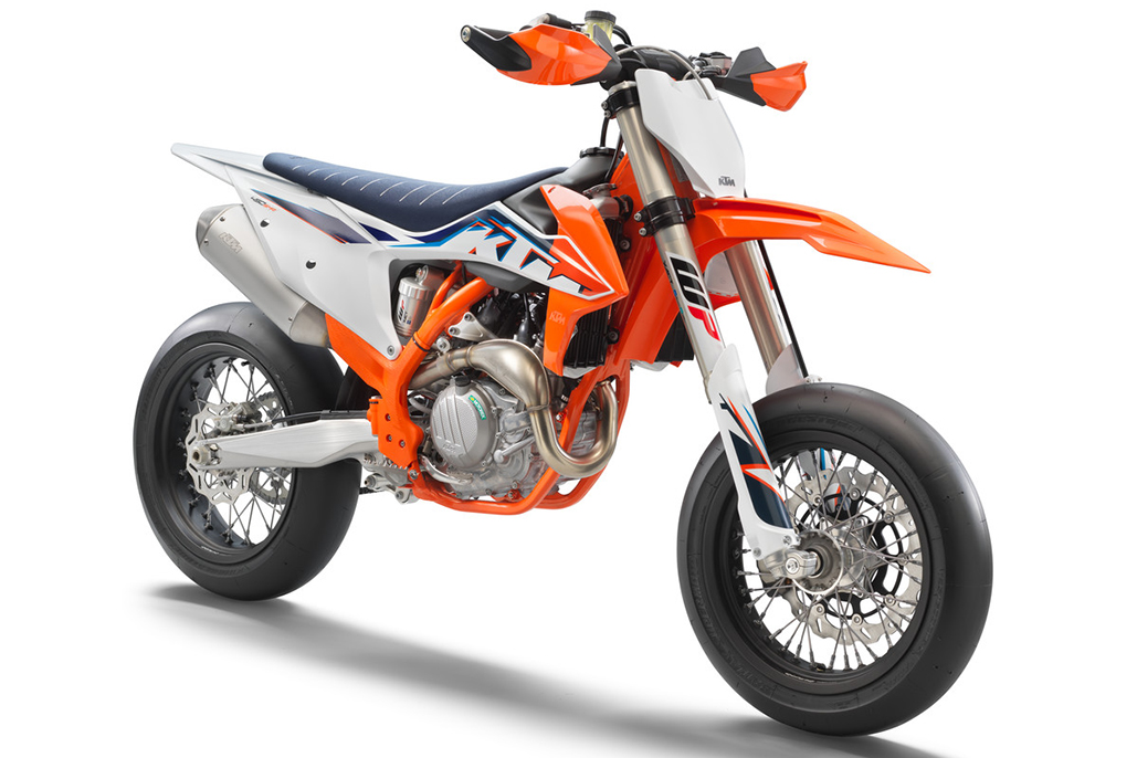 On Track Now: The 2022 Ktm 450 Smr Is The Ultimate Supermoto Racer