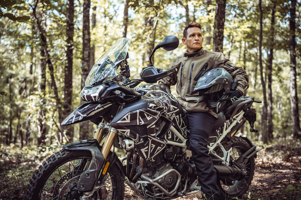 Ricky Carmichael Rides The New Tiger 1200 Prototype