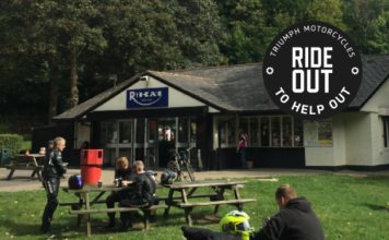 Triumph Motorcycles Launches Ride Out To Help Out Campaign