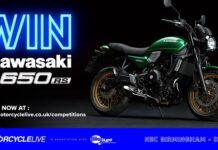 Win! A Brand-new Kawasaki Z650rs With Motorcycle Live